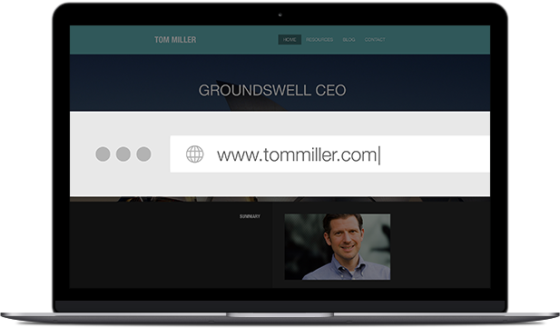 Register your own free custom domain. Executive subscribers can also create private email addresses to help give your communication a customized, polished look.
